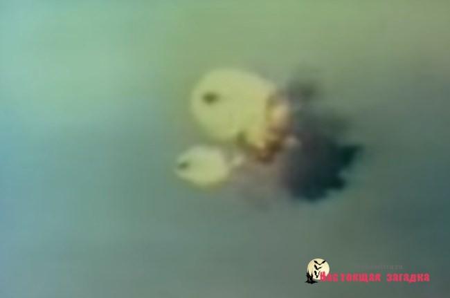 НЛО — Реальное Видео на камеру русскими и амер. истребителями